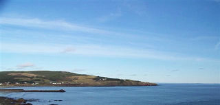 A view of the Easter Cove from the Wester Cove