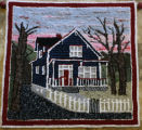 Arnott, Judy. A hooked rug made by Judy depicting their home.