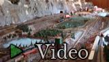 Hambling, Jack. Video clip featuring Jack Hambling's model train in South River.