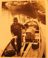 Gray, Wendell. Photograph of Gray's father in Quidi Vidi.