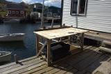 Gray, Wendell. First splitting table on the Gray stage in Quidi Vidi.