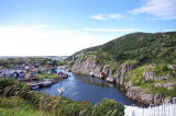 View of Quidi Vidi Harbour from the Battery.