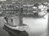 Soper, Edward. Image of boats in Quidi Vidi Harbour 2.