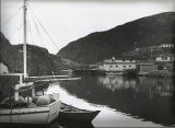 Soper, Edward. Image of boats in Quidi Vidi Harbour 1.