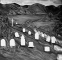 Painting of Port Royal Cemetery