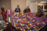 "A ""stained glass"" quilt"