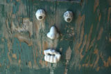 A door with a face