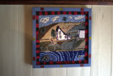 Hooked rug made by Barry Norris.