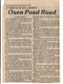 The history of Oxen Pond Road,reported by The Evening Telegram