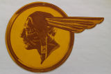 Kane, Linda. Image 1c - Chief Pontiac Logo. Hung in the showroom as advertisements.