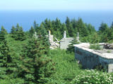 Red Cliff Hike 028. Photo of Red Cliff Base area. An American Radar Station from 1951-1962.