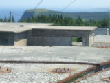 Red Cliff Hike 039. Photo of Red Cliff Base area. An American Radar Station from 1951-1962.