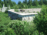 Red Cliff Hike 027. Photo of Red Cliff Base area. An American Radar Station from 1951-1962.