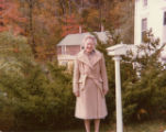 Pearl Squires by her home in Melrose.