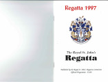 Regatta Official Programme 1997