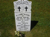 Peter and Leo Joseph Roche headstone in St. Francis of Assisi Cemetery