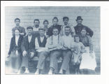 Mitchell, Barbara. Photograph of Bell Island Mine workers from Barbara Mitchell's personal...