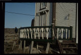 The porch of Jack Donahue's home, Joe Batt's Arm