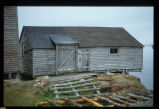 John Brown's stage showing side entrance, Joe Batt's Arm