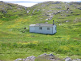 Cabin with outhouse, Little Fogo Island