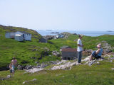 Cabins and outbuildings, Little Fogo Island