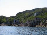 Fishing stages and a fishing store, Dean's Harbour, Little Fogo Island