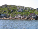 Dean's Harbour seen from the water, Little Fogo Island