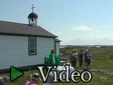 Mass, St. Anne's Church, Little Fogo Island
