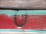 Horseshoe on Peter Emberley's shed, Little Fogo Island
