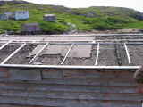 Roof, Peter Emberley's store, Little Fogo Island