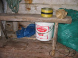 Workbench, Peter Emberley's stage, Little Fogo Island