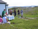 Roman Catholic Mass, St. Anne's Church, Little Fogo Island