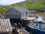 Stage and store, Wadham's Harbour, Little Fogo Island