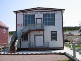 Fogo Union Museum from the water side, Seldom-Come-By