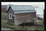 Greene's Point shed, Tilting