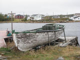 Motor boat stripped of Make and Break, Mary's Harbour Labrador