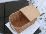 Large mill basket style picnic basket, Norris Arm North