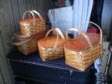 Several mill baskets of various sizes, Norris Arm North
