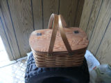 Woven mill basket, Norris Arm North