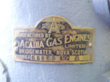 Manufacturing plate on 5 Acadia engine at Automotive Supplies Limited St. John's
