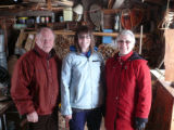 Nicole Penney (collector) with Bruce and Lillian Moores (informants), Norris Arm North