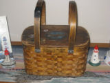 Woven lunch basket, Norris Arm