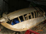 Casey, J. Wooden row punt built by Jack Casey in 2009, Building (5)