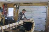 Saunders, Eugene. Winter 2012-13. Building a Gander River Boat, Glenwood.