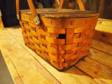 Downey, Junior. Lunch basket belonging to Grand Falls - Windsor Mill employee, Junior Downey. Grand