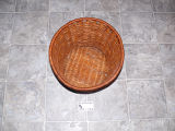 Spruce root planter made by Anthony White, Flat Bay