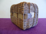 Mchugh woven lunch basket with no lid, Grand Falls-Windsor