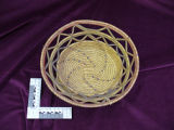 Coiled grass basket, Labrador