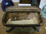 Woven mill lunch basket, Grand Falls-Windsor Heritage Society, Grand Falls-Windsor