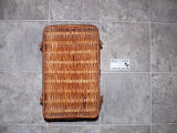Woven lunch basket made by Anthony White, Flat Bay